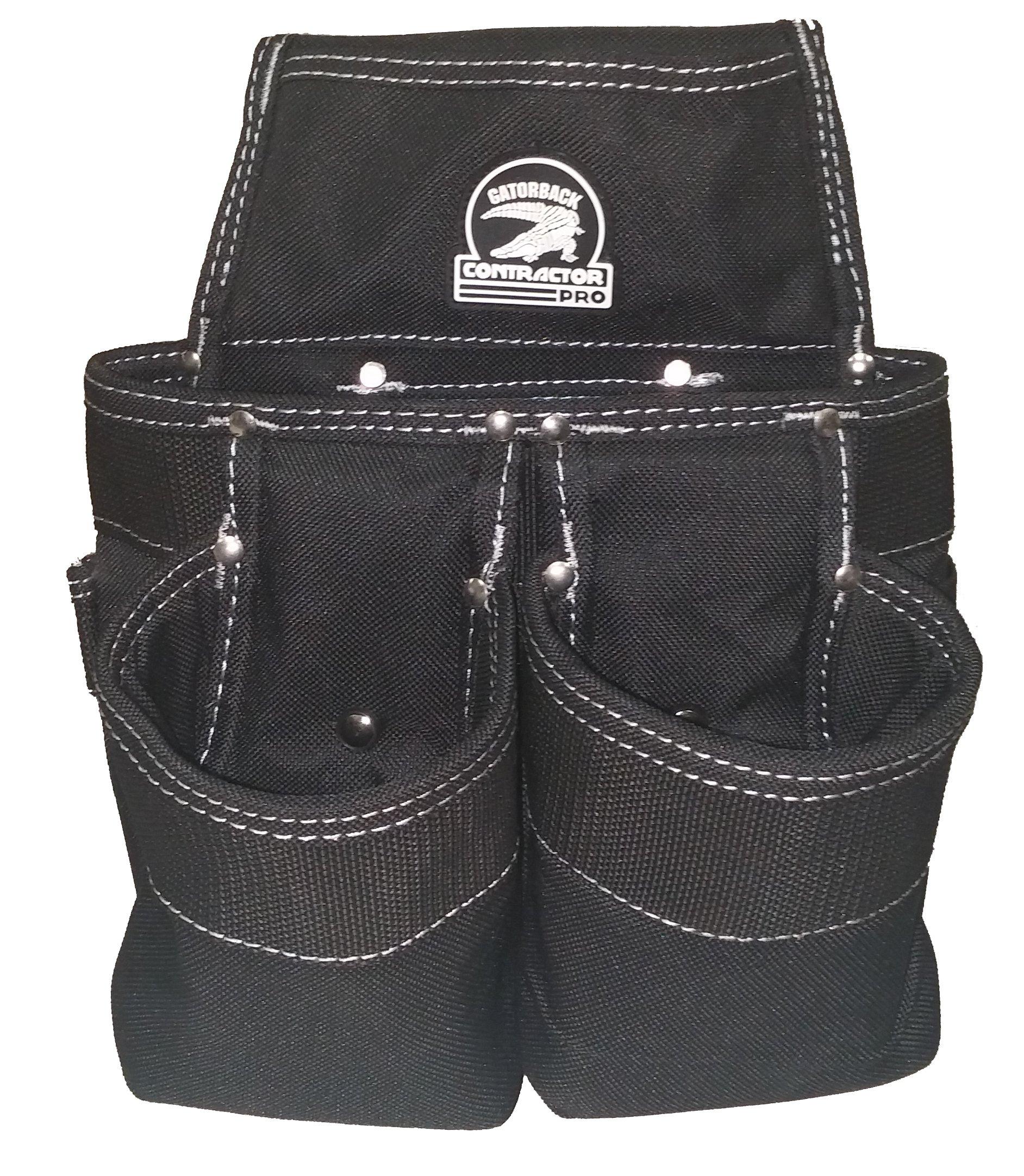 Gatorback B145 Carpenters Triple Combo w/Pro-Comfort Back Support Belt. Heavy Duty Work Belt (X-Large 40''-44'') by Gatorback (Image #4)