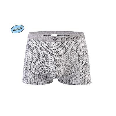 GUBENPEIYUAN Healthcare Ergonomics Design Soft Breathable Men's Boxer at Amazon Men's Clothing store