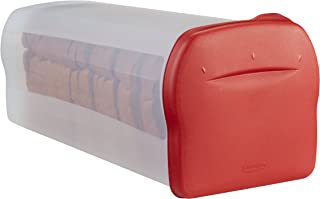 product image for Rubbermaid Specialty Bread Keeper Food Storage Container , Red