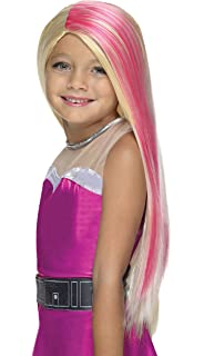 Rubies Costume Barbie Princess Power Super Sparkle Child Wig