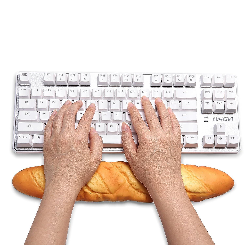 amazon com keyboard mouse wrist rest pad non slip silica gel