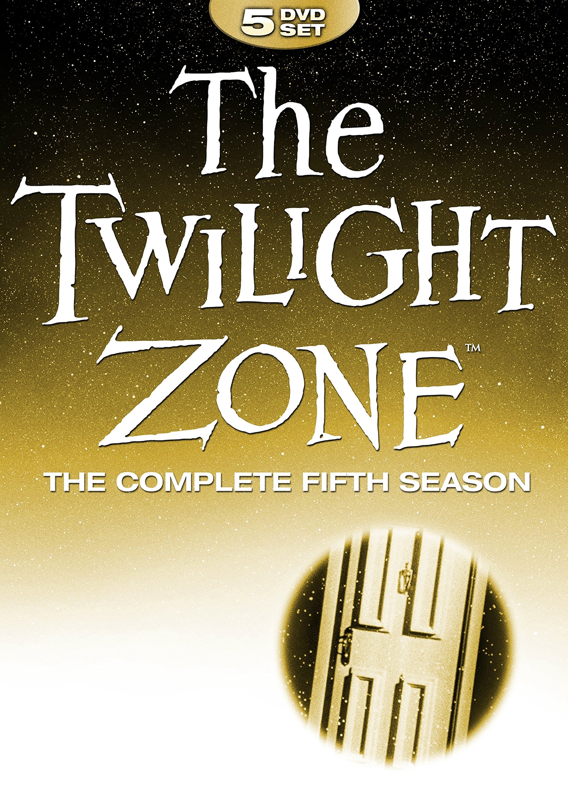 DVD : The Twilight Zone: Complete Fifth Collection (Full Frame, Boxed Set, Amaray Case, 5PC)