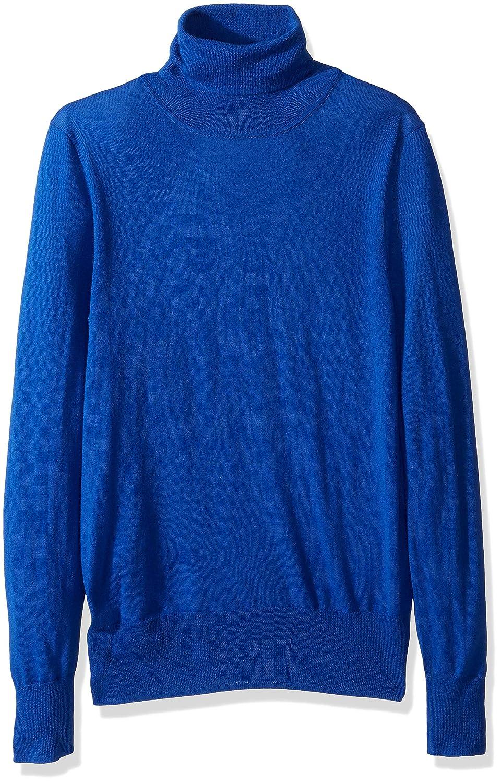Brilliant Sapphire J.Crew Mercantile Womens Merino Turtleneck Sweater Sweater