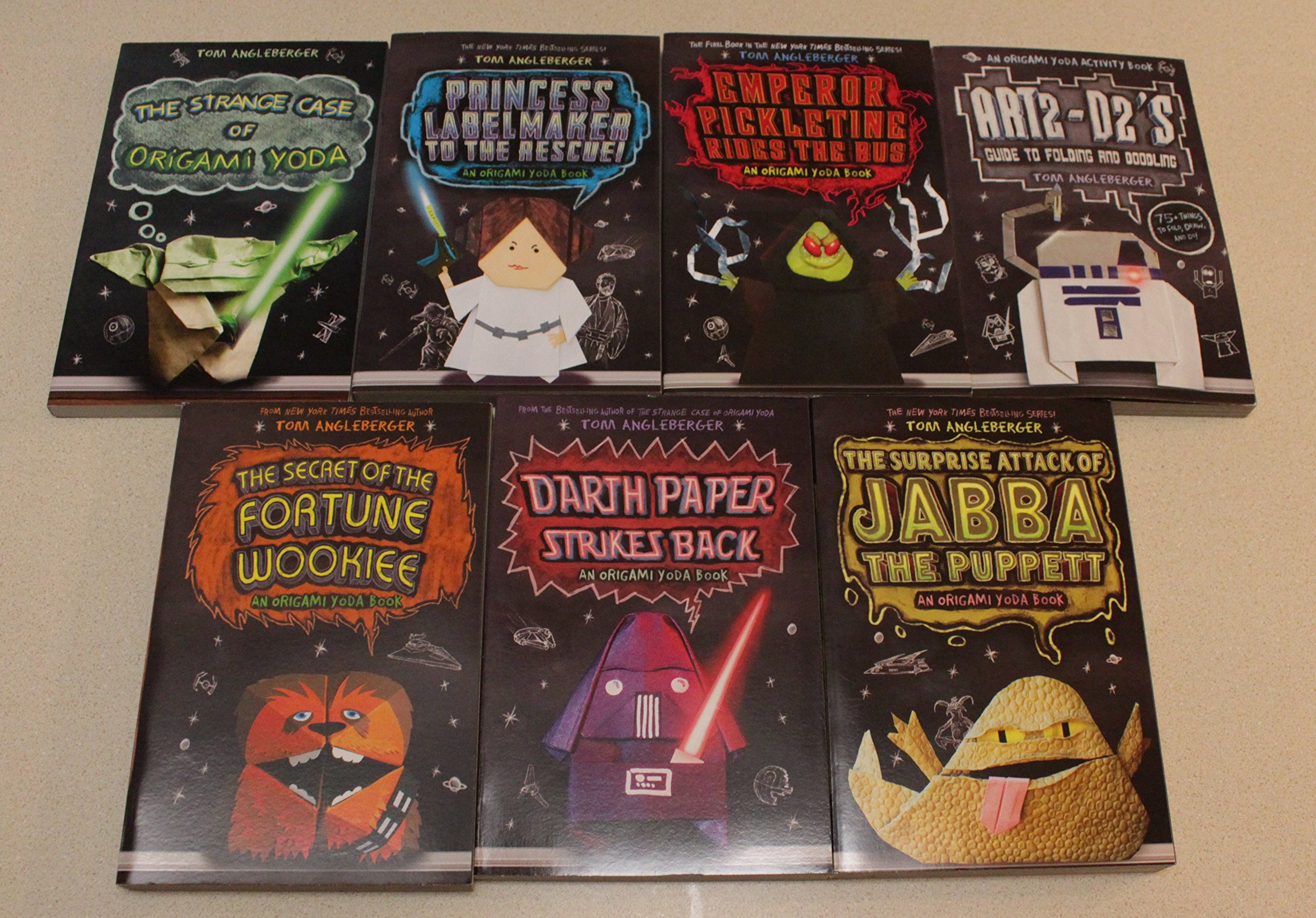 Download 7 Book Collection Origami Yoda Series pdf