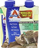 Atkins Ready To Drink Shake, Mocha Latte, 11-Ounce Aseptic Containers (Pack of  8)