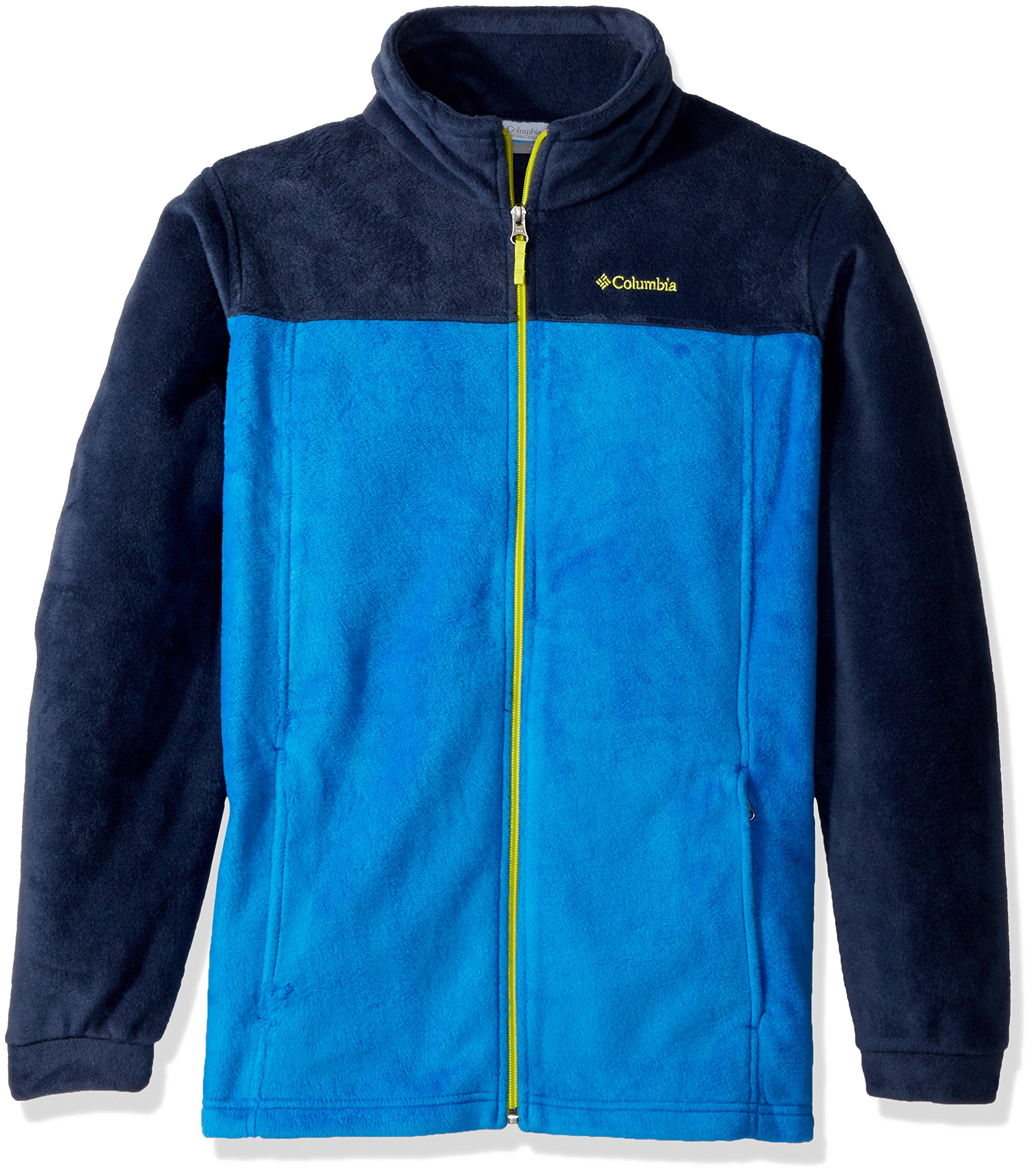 Columbia Boys' Toddler Steens Mt II Fleece, Collegiate Navy, Super Blue, 4T