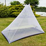 Andes Triangle Hanging Mosquito Fly Single Or Double Bed Protection Net New
