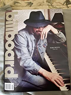 Billboard Magazine October 14 20 2017 Tom Petty Tribute Cover