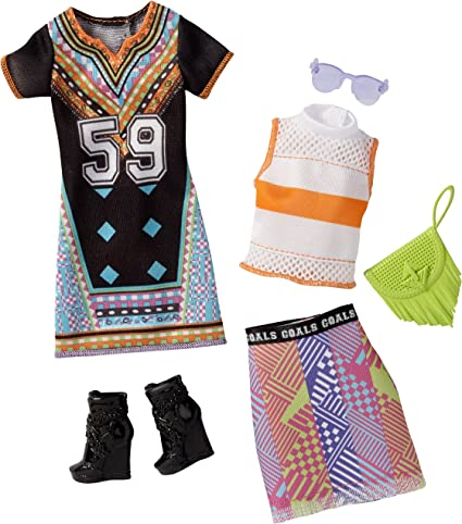 Amazon Com Barbie Fashions Toys Games
