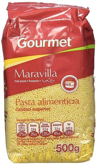 Gourmet - Maravilla - Pasta alimenticia - 500 g - [Pack de 9]