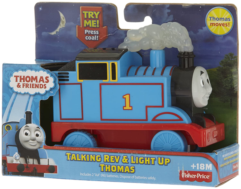 Amazon.com: Thomas & Friends Fisher-Price Talking Rev & Light Up ...