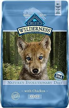 Blue Buffalo Wilderness High Protein Grain Free, Natural Puppy Wet Dog Food, Turkey & Chicken Grill 12