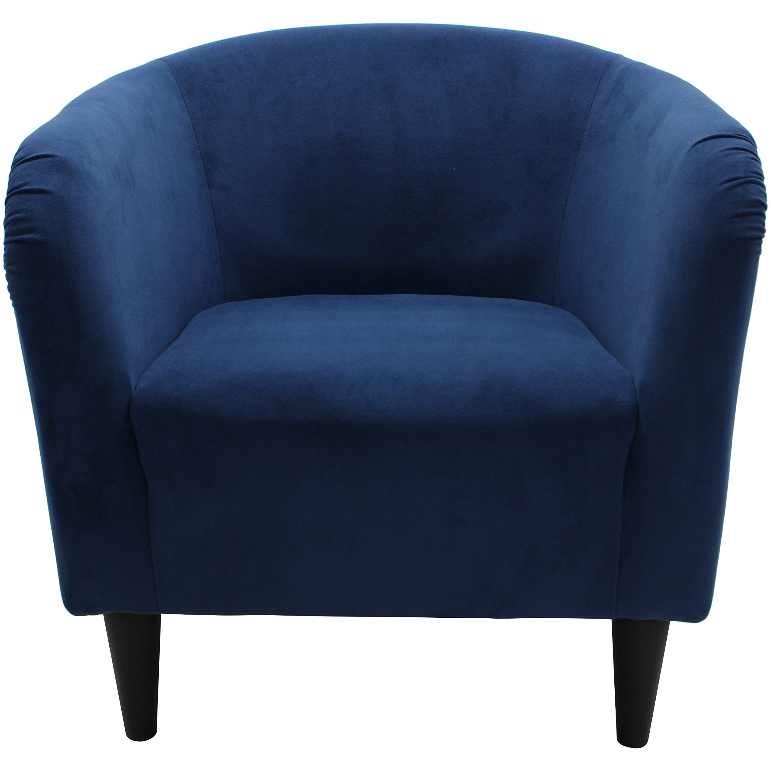 Mainstays Microfiber Tub Accent Chair (Navy Blue) by Mainstay (Image #5)