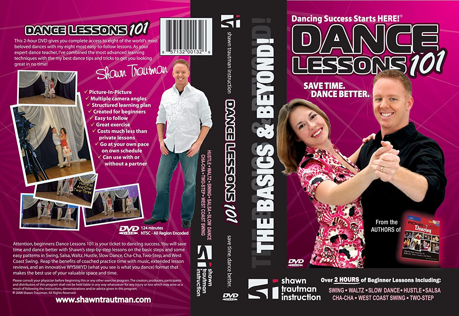 Amazon Dance Lessons 101 The Basics And Beyond Shawn Trautman