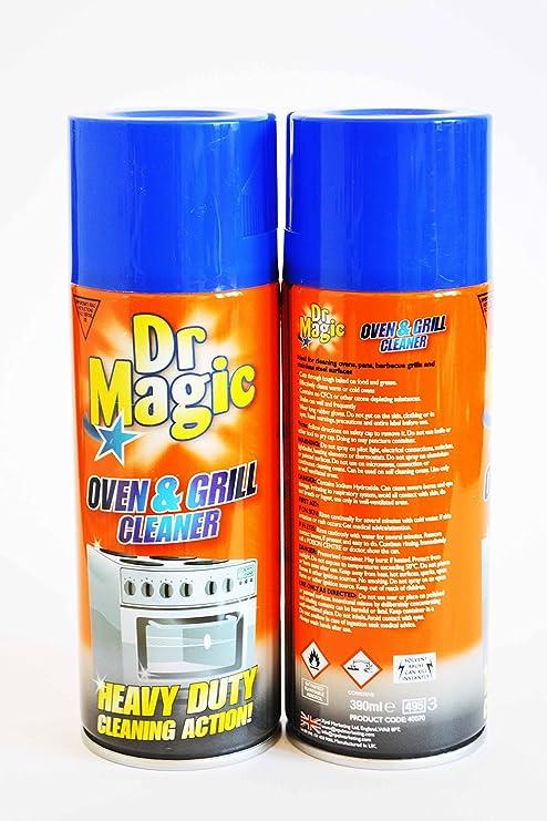 Dr Horno mágico y Limpiador de Parrilla Heavy Duty acción de ...