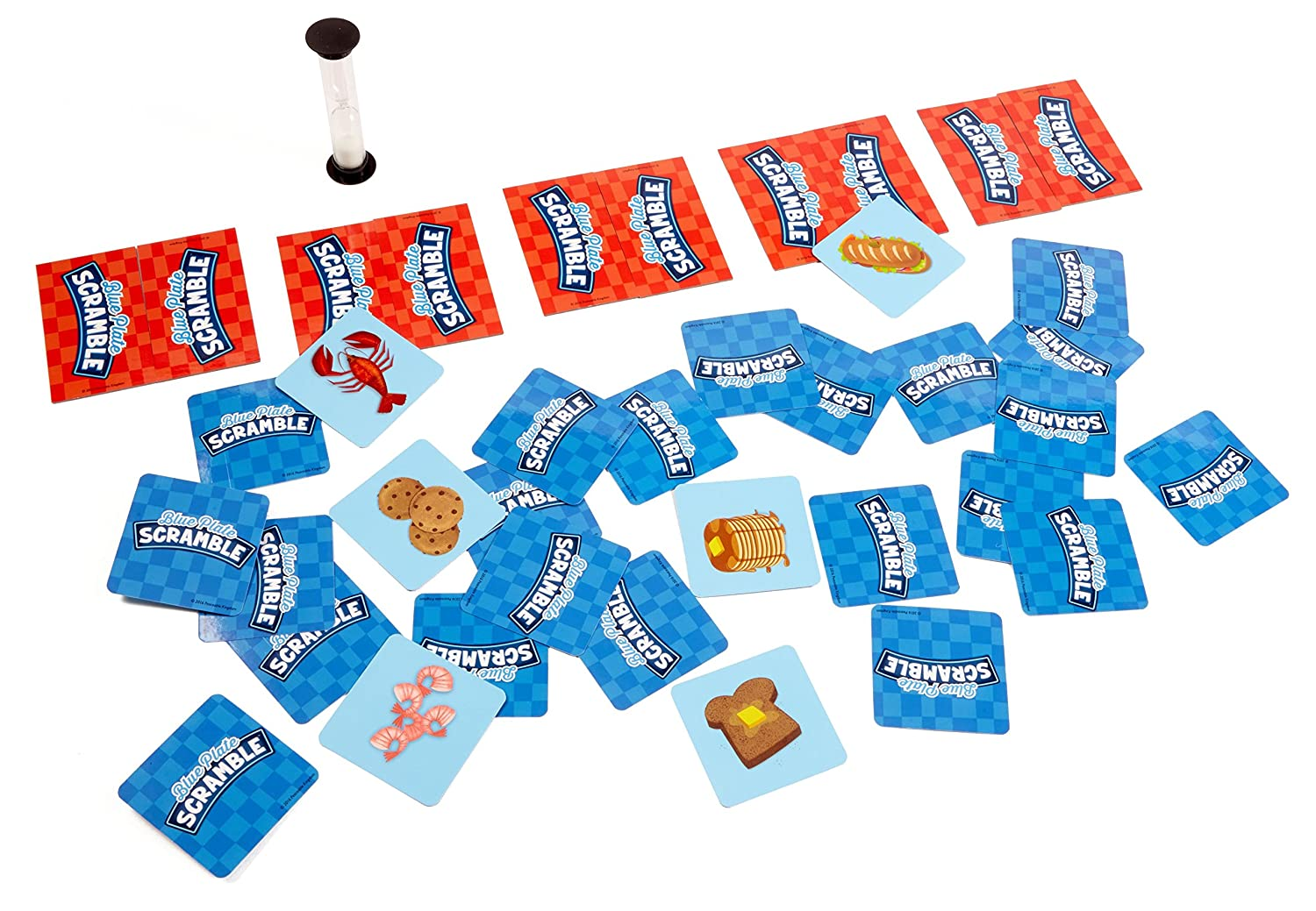 Amazon.com: Blue Plate Scramble Game: Toys & Games