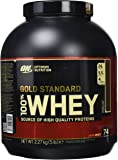 Optimum Nutrition 100% Whey Gold Standard (5lbs) Double Rich Chocolate, 2.273 kg