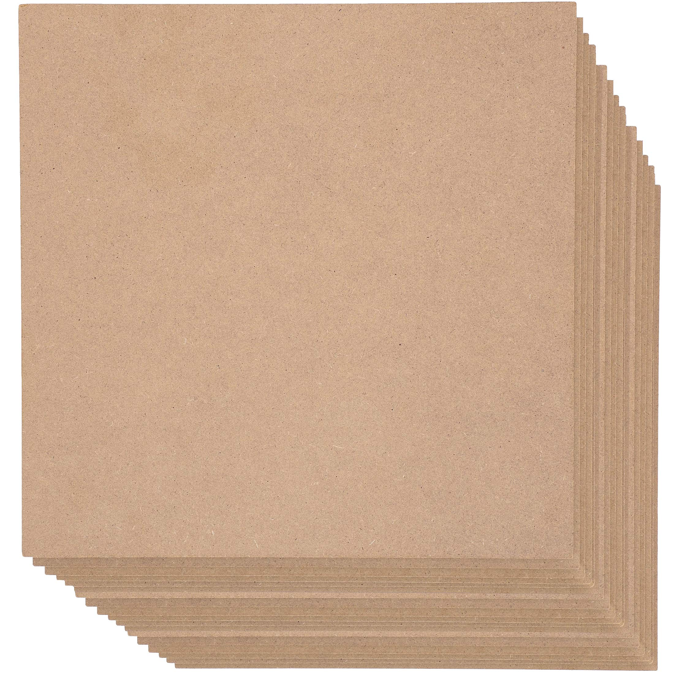 Bright Creations Square MDF Board, 12 Inches (20 Pack) by Bright Creations