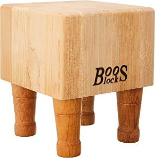 product image for John Boos Block MCB1 Maple Wood End Grain Mini Chopping Block with Feet, 6 Inches x 6 Inches x 4 Inches