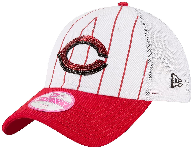 27ade77d219 Amazon.com   MLB Cincinnati Reds Women s Truck Lust 9Twenty Trucker ...