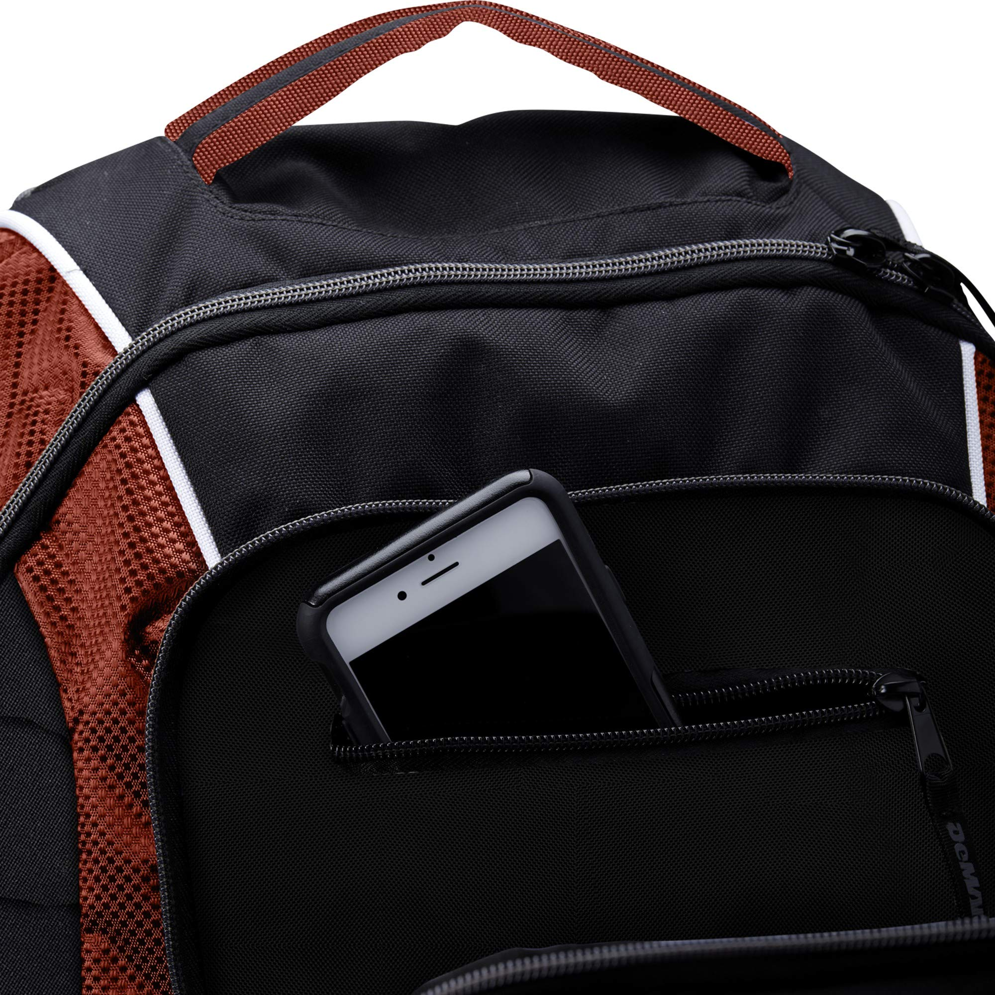 DeMarini WTD9407SC Momentum Backpack, Scarlet by DeMarini (Image #6)