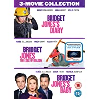 Bridget Jones 3-Film Collection (Bridget Jones's Diary/Bridget Jones: The Edge Of Reason/Bridget Jones's Baby) [DVD + Digital Download] [2016]