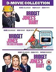 Bridget Jones 3-Film Collection (Bridget Jones's Diary/Bridget Jones: The Edge Of Reason/Bridget Jones's Baby) Digital Download] [2016]