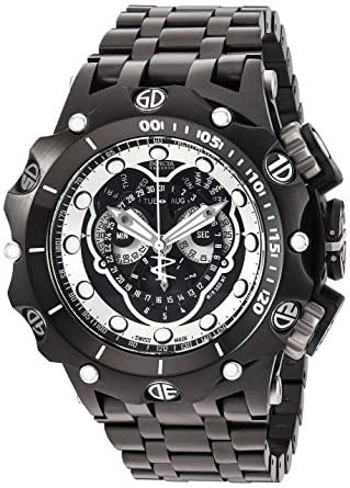 6fca76197b6 Amazon.com: Invicta Men's 'Venom' Swiss Quartz Stainless Steel Watch ...