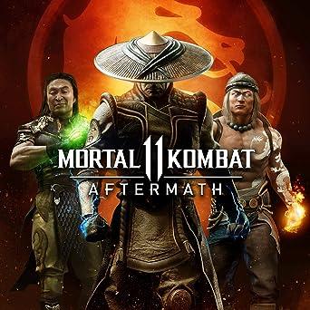 Amazon Com Mortal Kombat 11 Aftermath Ps4 Digital Code