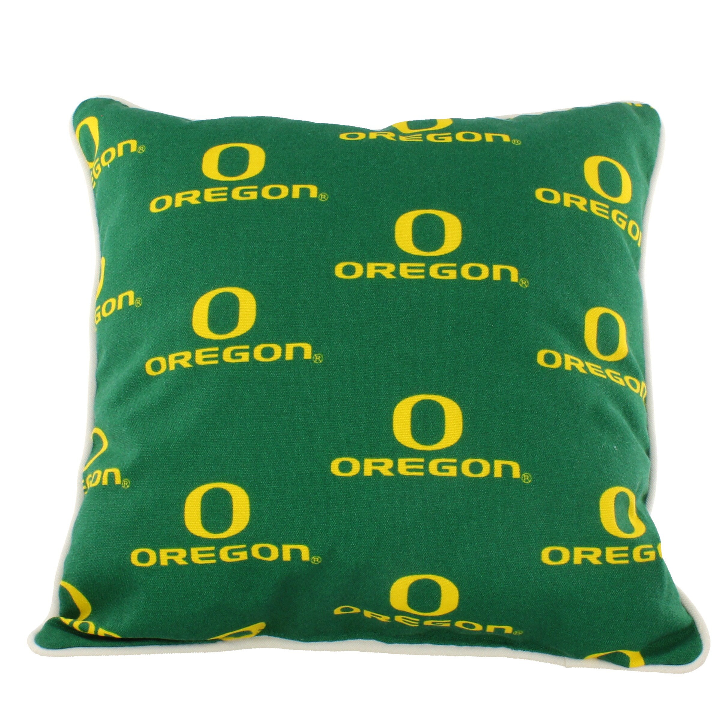 College Covers OREODP Oregon Ducks Outdoor Decorative Pillow, 16'' x 16'', Green by College Covers (Image #1)