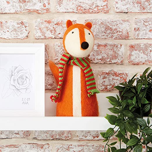 Docraft Simply Make Craft Kit Needle Felting Large Fox