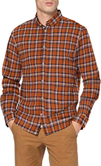 Tom Tailor Grindle Check Camisa para Hombre
