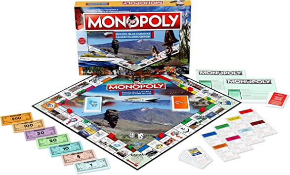 Winning Moves Monopoly Islas Canarias (63379), multicolor, ninguna (ELEVEN FORCE: Amazon.es: Juguetes y juegos