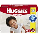 Huggies Snug and Dry Diapers, Step 5 Economy Plus, 168-Count