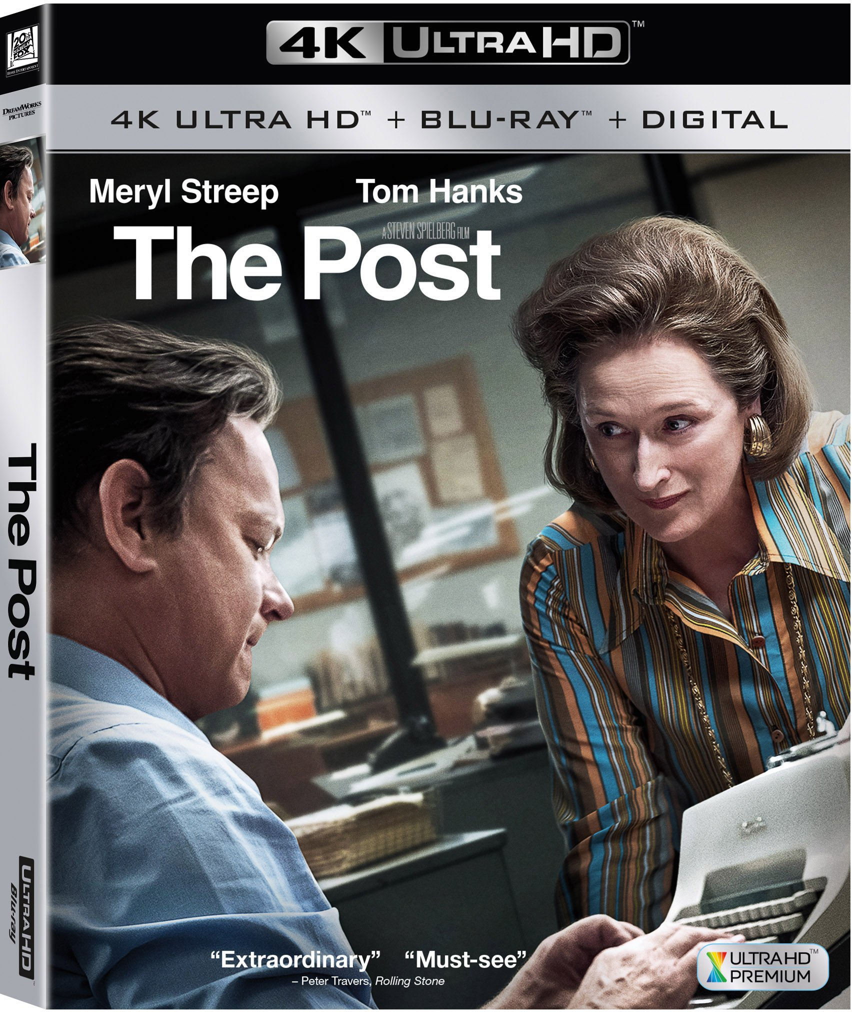 4K Blu-ray : The Post (Digitally Mastered in HD, Digital Theater System, Widescreen, Dolby, Subtitled)
