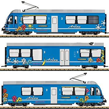 Amazon.com: LGB l21225 Allegra Powered Rail Car tren, color ...