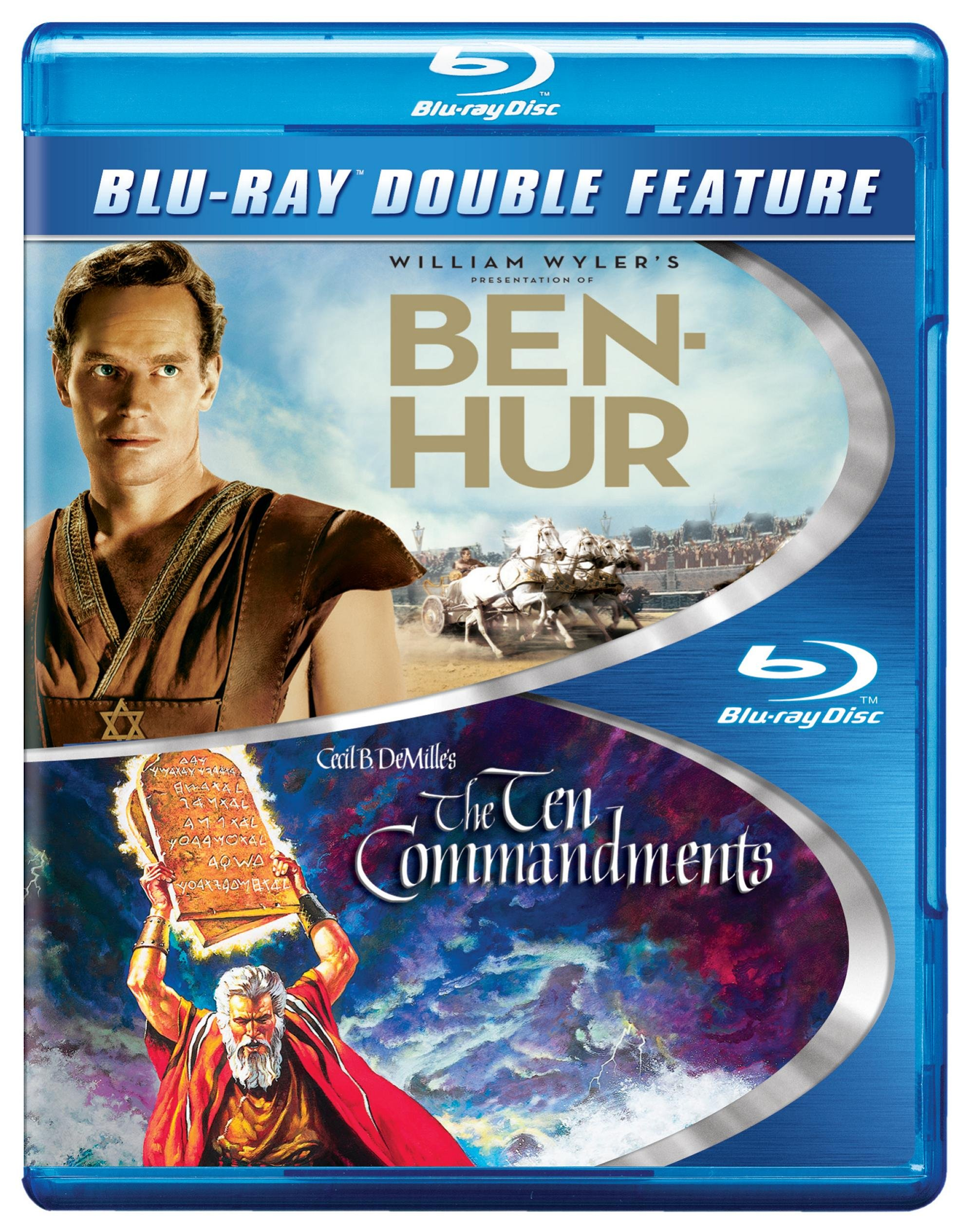 Blu-ray : Ben-Hur: The Ten Commandments