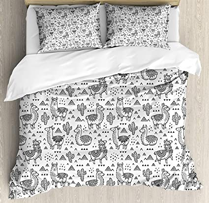 Outer Space 3PCS Zippered Soft Duvet Cover Comforter Cover Set with Quilt Cover Anzona Luxury Microfiber 3 Piece Bedding Set Twin Size Pillow Cases for Kids/Teens/Adults