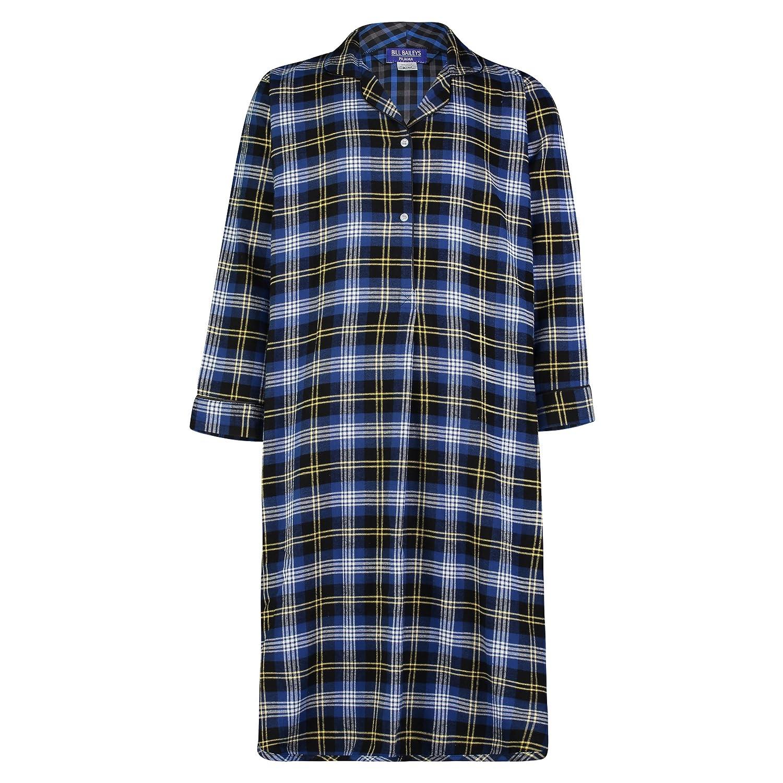 Bill Baileys Sleepwear Men s 100% Cotton Flannel Nightshirt Sleep Shirt at  Amazon Men s Clothing store  7cc714e76