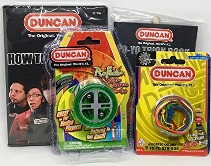 Amazon.com: Duncan Beginner YoYo Kit (4 Items) - Green ...