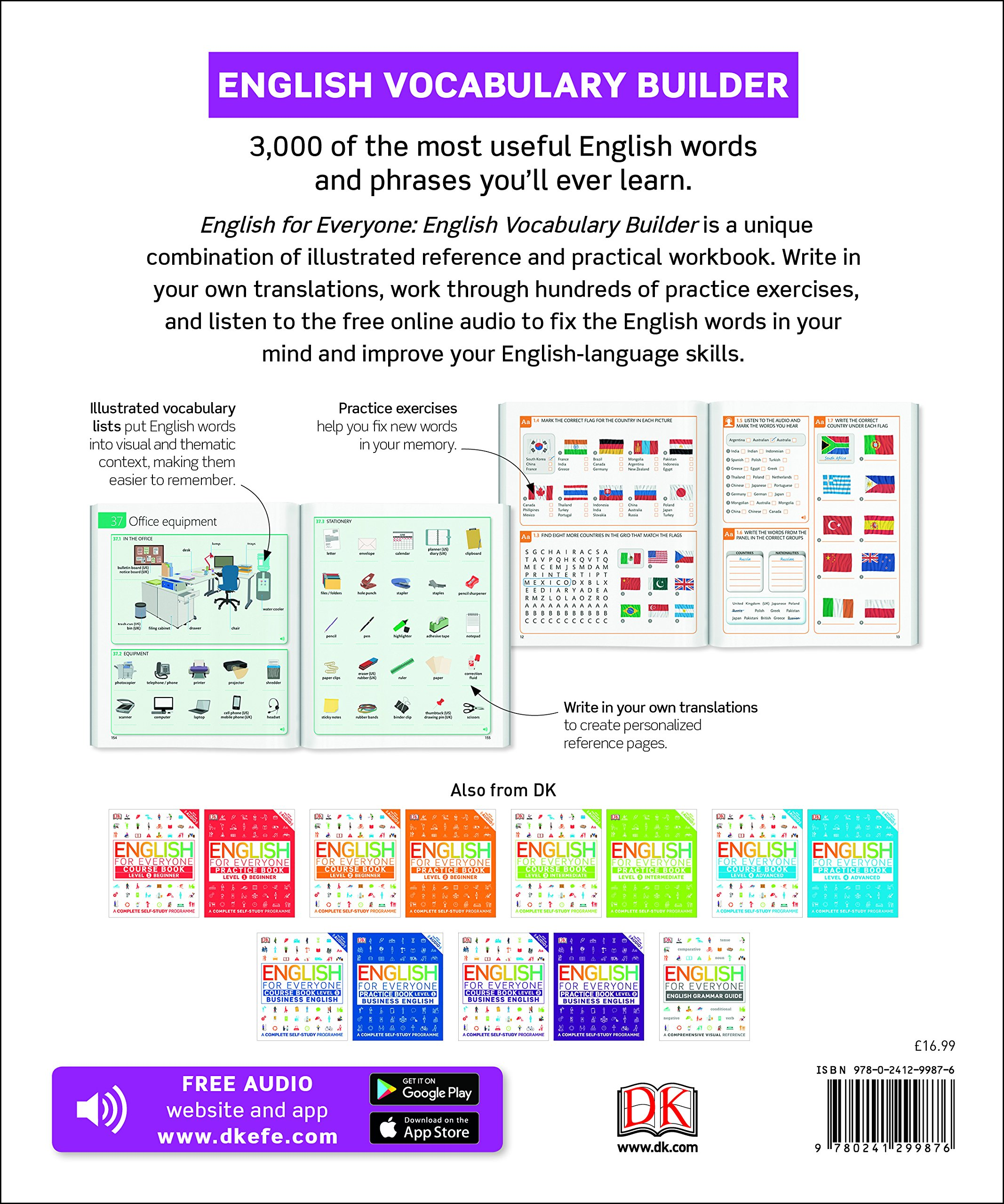 English for Everyone English Vocabulary Builder: Amazon co
