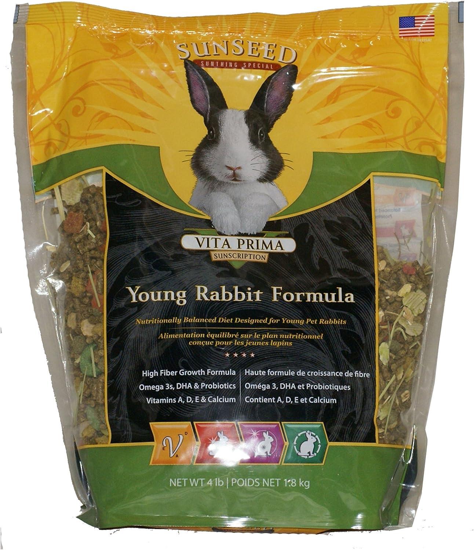Sun Seed Rabbit (Young) Vita Plus 4 Lb