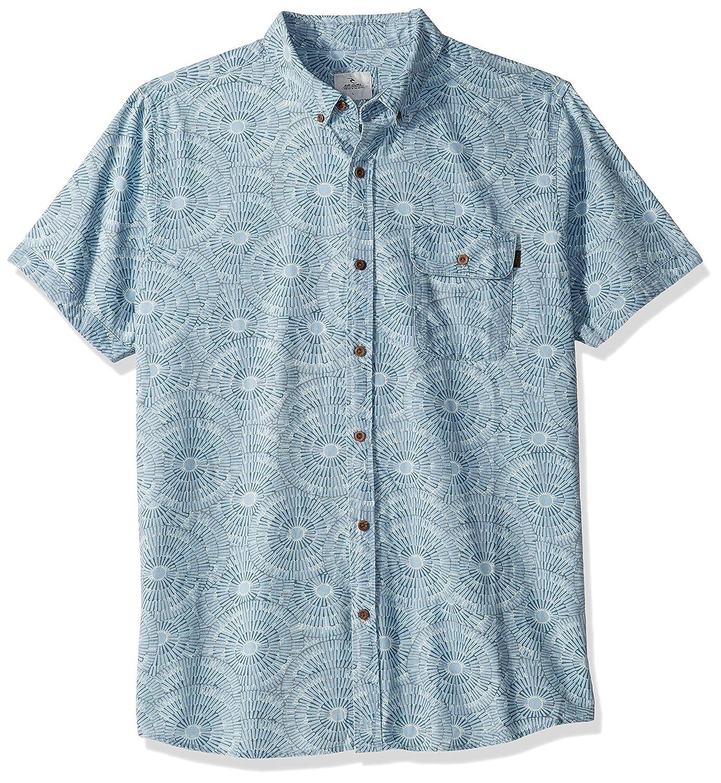 Rip Curl Mens Coastal Short Sleeve Button Up Shirt