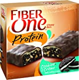 Fiber One Protein Chewy Bar Cookies and Crème 5 - 1.17 oz Bars