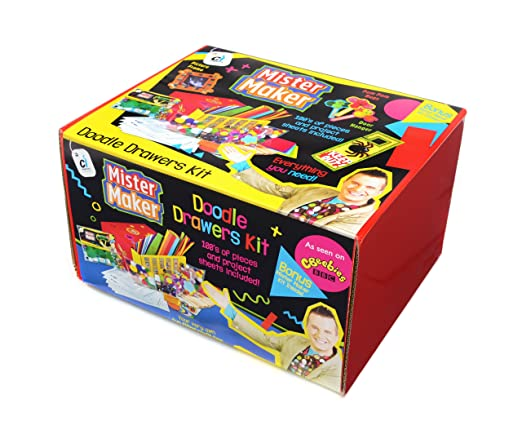 28 opinioni per Mister Maker Doodle Drawers Bumper Craft Kit [importato da UK]