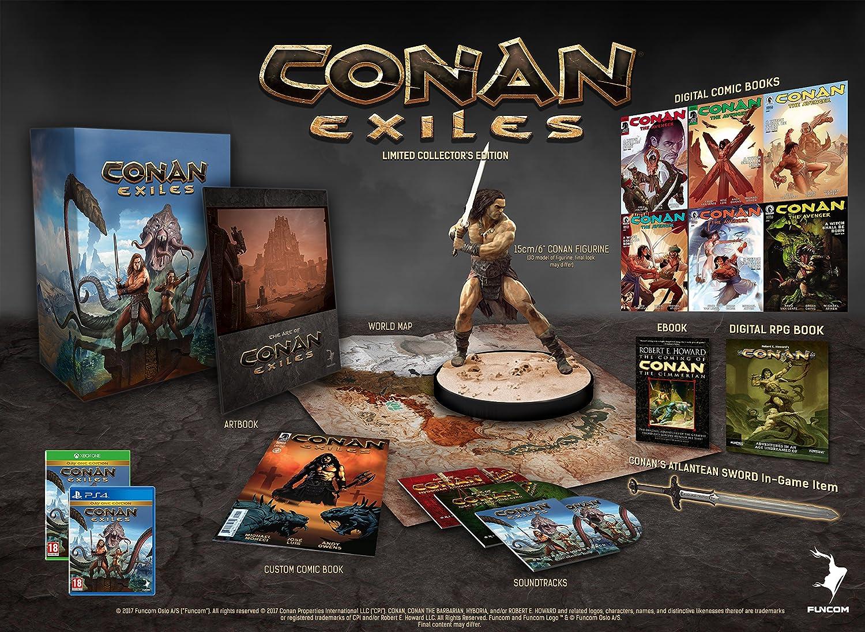 Conan Exiles: Collector's Edition (PS4): Amazon co uk: PC