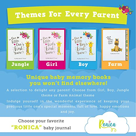Buy ronica baby memory book 60 page photo album and keepsake buy ronica baby memory book 60 page photo album and keepsake scrapbook online at low prices in india amazon solutioingenieria Image collections