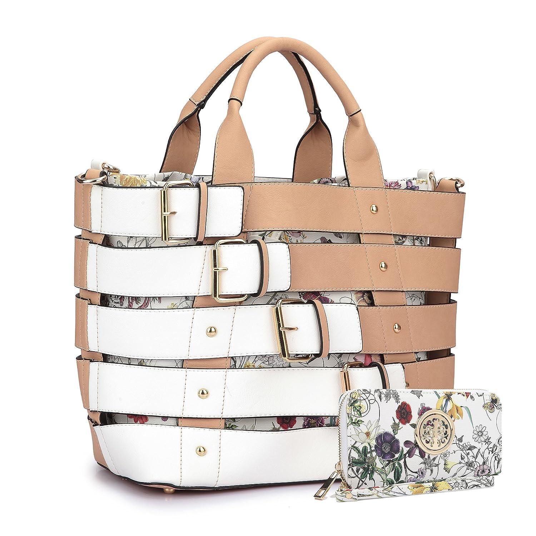 f4b1c99867fac MMK Collection Satchel  Briefcase set~Satchel handbags with Wristlet wallet  ~Designer Purse for Women ~ Perfect Women Purse and wrist wallet~ Beautiful  ...