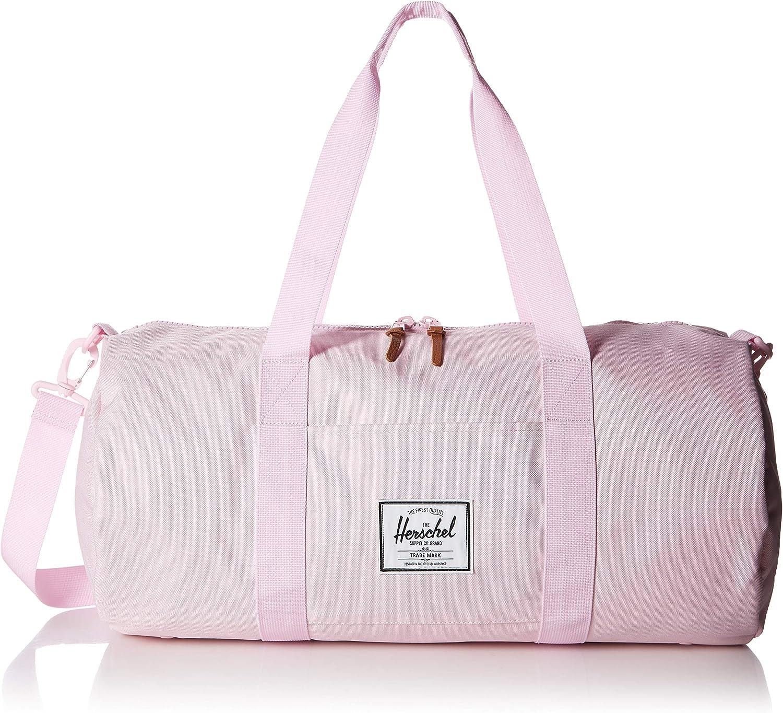 Girls Red Pink Floral Pattern Carry Duffle Adjustable Shoulder Waterproof