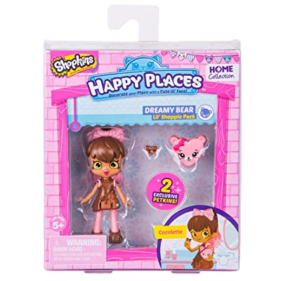 Happy Places Shopkins Season 2 Doll Single Pack Cocolette: Toys & Games [5Bkhe1403830]